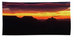 Ribbon Sunrise Hand Towel