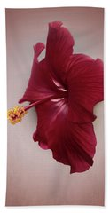 Bath Towel featuring the photograph Rich Red by Judy Hall-Folde