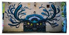Richmond Street Art Bath Towel