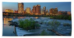 Richmond Twilight Bath Towel by Rick Berk