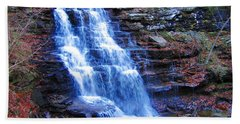 Ricketts Glen Waterfall 3941  Bath Towel