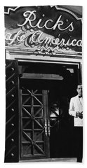 Ricks Cafe Americain Casablanca 1942 Hand Towel