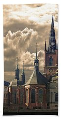 Riddarholm Church - Stockholm Hand Towel by Jeff Burgess
