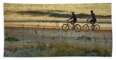 Ride At Dawn Hand Towel