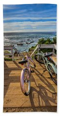 Ride With Me To The Beach Hand Towel