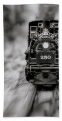 Riding The Railways Hand Towel