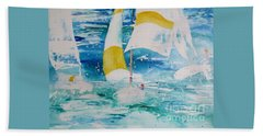 Riding The Wind Hand Towel
