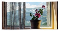 Rila Mountains-flowers Hand Towel