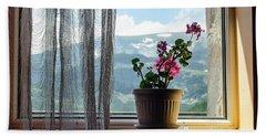 Rila Mountains-flowers Bath Towel
