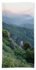 Bath Towel featuring the photograph Rim O' The World National Scenic Byway II by Kyle Hanson