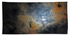 Ring Around The Moon Bath Towel