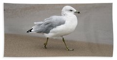 Ring Billed Gull Bath Towel
