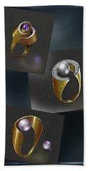 Ring  Designs Hand Towel
