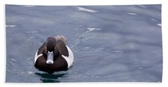 Ring-necked Duck Bath Towel by Afrodita Ellerman