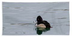 Ring Necked Duck Hand Towel