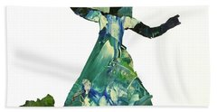 Ring Shout Dancer II Bath Towel by Mary Sullivan