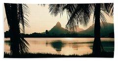 Rio De Janeiro, Brazil Landscape Hand Towel