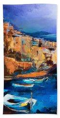 Riomaggiore - Cinque Terre Bath Towel