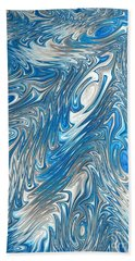 Ripples In Time Hand Towel
