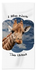 Rise Above Hand Towel by Judi Saunders