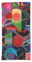 Rising Above And Synergy 2 Hand Towel
