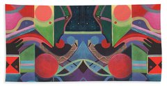 Rising Above And Synergy 3 Hand Towel