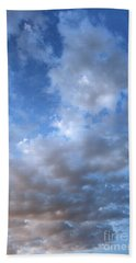 Bath Towel featuring the photograph Rising Clouds by Michael Rock