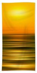 Rising Sun Hand Towel by Az Jackson