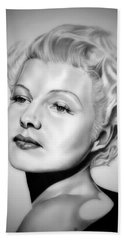 Rita Hayworth Hand Towel