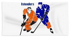 Rivalry Flyers Islanders Shirt Hand Towel