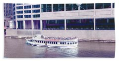 River Boat Tour Hand Towel