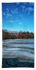River Ice Hand Towel