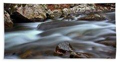 River Magic Hand Towel by Douglas Stucky