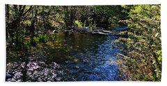 River Of Peace Bath Towel