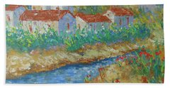 River Of Provence Bath Towel