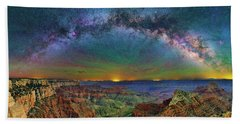 River Of Stars Bath Towel