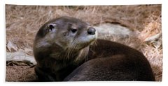 River Otter Hand Towel