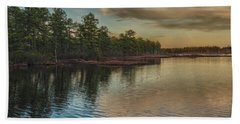 River Reflections On The Mullica River Bath Towel