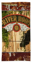 Bath Towel featuring the photograph River Room Georgetown South Carolina by Bob Pardue