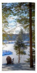 River View Bath Towel by David Patterson