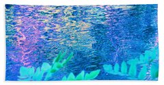 Distractions From The River Waters Bath Towel