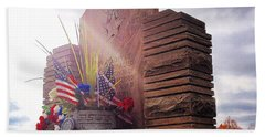 Riverside Cemetery War Memorial Hand Towel