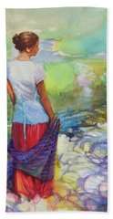 Riverside Muse Hand Towel