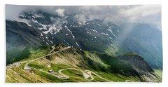 Road Austria Hand Towel