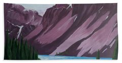 Road To Banff Hand Towel