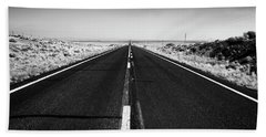 Road To Forever Bath Towel by David Cote