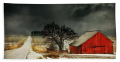 Hand Towel featuring the photograph Road To Nowhere by Julie Hamilton