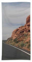 Road To Nowhere Hand Towel