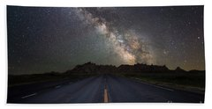 Road To The Heavens Bath Towel