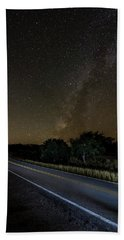 Bath Towel featuring the photograph Road To The Milky Way by Andy Crawford